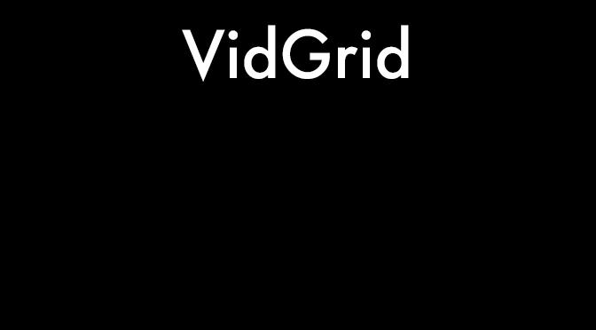 VidGrid Interactive Installation