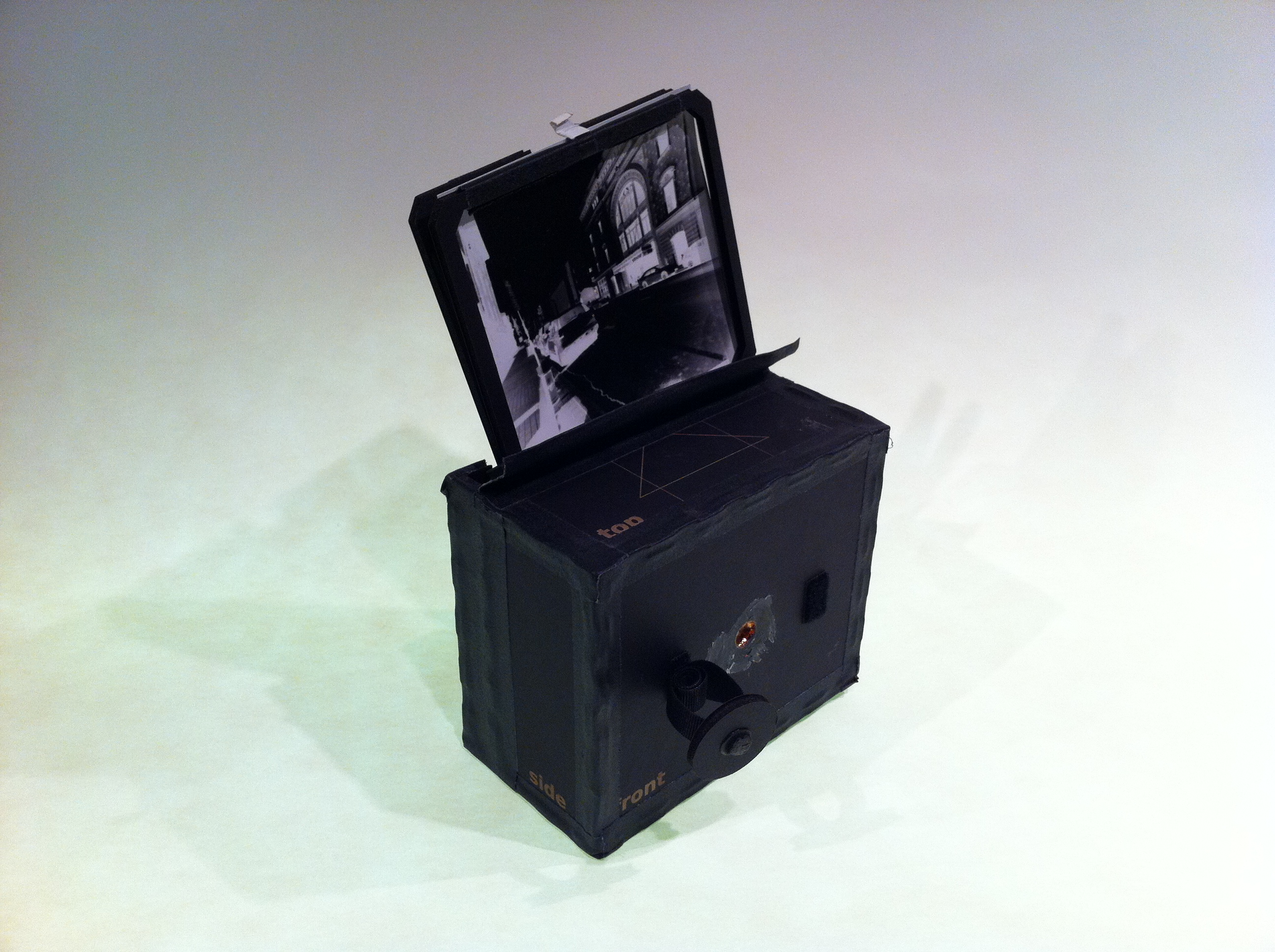 Making Pinhole Cameras with a Laser Cutter | gigantino.tv